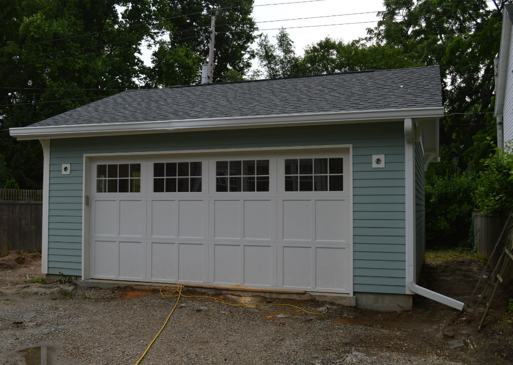 Detached Garage Construction In Indianapolis Masterpiece